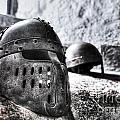 Knight Helmet by Traci Law
