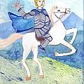 Knight Of Swords by Sushila Burgess
