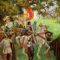 Knights Assembling, From Sir Nigel by George Edmund Butler