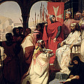 Knights Of The Order Of St John Of Jerusalem Restoring Religion In Armenia by Henri Delaborde