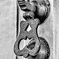 Knock Knock - Bw by Christopher Holmes