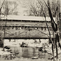 Knox Valley Forge Covered Bridge by Bill Cannon