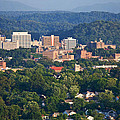 Knoxville Skyline In Summer by Melinda Fawver