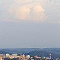 Knoxville Skyline With Clouds by Melinda Fawver