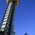Knoxville Sunsphere Perspective by Melinda Fawver