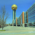 Knoxville Tn Sunsphere Hdr by Ules Barnwell