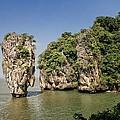 Ko Tapu Island In Thailand by Jon Ingall