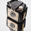 Kodak Brownie Bullet Camera Mirror Image by Edward Fielding