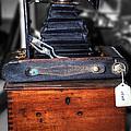 Kodak Folding Autographic Brownie 2-a by Kaye Menner