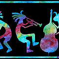 Kokopelli Jazz Trio by Jenny Armitage