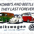 Kombis And Beetles Last Forever by Bill Cannon