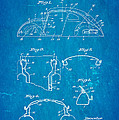 Komenda Vw Beetle Body Design Patent Art 1945 Blueprint by Ian Monk