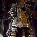 Komokuten Guardian King - Nara Japan by Daniel Hagerman
