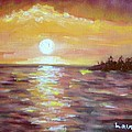 Kona Sunset by Laurie Morgan