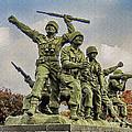 Korean War Veterans Memorial South Korea by Bob and Nadine Johnston