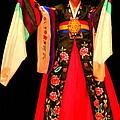 Korean Woman Dancer by Laurel Talabere