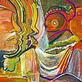 Koulikoro Woman by Peggy  Blood