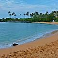 Kpalua Bay Beach by Richard Jenkins