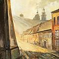 Krakow- Kanonicza Street by Luke Karcz