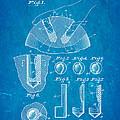 Kramer Bowling Bowl Finger Hole Insert Patent Art 1949 Blueprint by Ian Monk