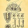 Kramer Bowling Bowl Finger Hole Insert Patent Art 1949 by Ian Monk
