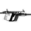 Kriss Vector X-ray Photograph by Ray Gunz