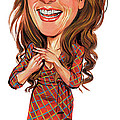 Kristen Wiig by Art