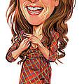 Kristen Wiig by Art