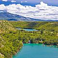 Krka River National Park Canyon by Brch Photography