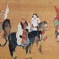 Kublai Khan Hunting by Granger