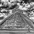 Kukulcan Pyramid V2 by Douglas Barnard