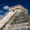 Kukulkan Pyramid At Chichen Itza by Jannis Werner