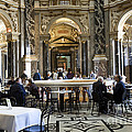 At The Kunsthistorische Museum Cafe II by Madeline Ellis
