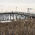 Kure Beach Pier by Marie Kirschner