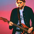 Kurt Cobain In Nirvana Painting by Paul Meijering