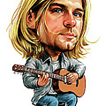 Kurt Cobain by Art