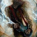 Kurt Cobain Zombie by Robert Anderson