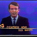 Kvoa Tv Anchorman Interviewer Writer Photographer Dick Mayers Screen Capture Collage Circa 1965-2011 by David Lee Guss