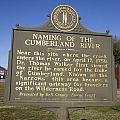 Ky-2045 Naming Of The Cumberland River by Jason O Watson