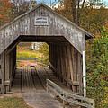 Ky Hillsboro Or Grange City Covered Bridge by Jack R Perry