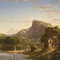 L Allegro by Thomas Cole
