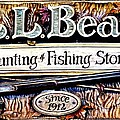 L. L. Bean Hunting And Fishing Store Since 1912 by Tara Potts