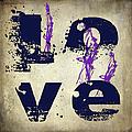 L O V E Crumbling by Paulette B Wright