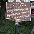 La-001 The Steamer New Orleans by Jason O Watson