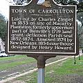 La-007 Town Of Carrollton by Jason O Watson