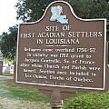 La-029 Site Of First Acadian Settlers In Louisiana by Jason O Watson