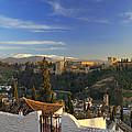 La Alhambra Granada Spain by Guido Montanes Castillo