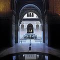 La Alhambra Patio De Los Leones by Guido Montanes Castillo