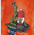 La Botella Framed Print By Juan Ibarra