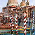 La Chiesa Della Salute Sul Canal Grande by Guido Borelli